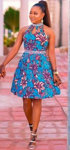 Sewing Clothes Come checkout some of the best modern ankara styles for ladies! Despite the fact that this material is used to sew female clothing for many years, designers . Short Gown Dress, Ankara Short Gown Styles, Ankara Styles For Women, Short Gowns, Latest Ankara Styles, Kente Styles, African Dresses For Kids, Latest African Fashion Dresses, African Inspired Fashion