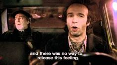 Taxi ride in Rome  from: Night On Earth (1991)  by: Jim Jarmusch    Roberto Benigni as Gino (taxi driver)  Paolo Bonacelli as Priest (passenger)    music: Tom Waits