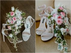 Shirley and James elopement at Hotel Giardino in Ascona, Shoes and bouquet