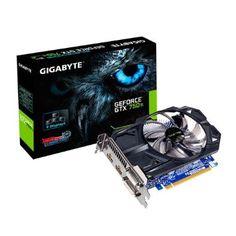 Gigabyte GV-N75TD5-2GI Carte graphique Nvidia GeForce GTX 750 Ti 1085 MHz 2048…