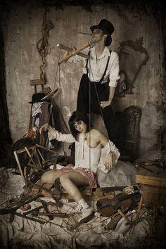 Lino Aquilina - Le_marionettiste