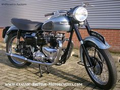 1954 Triumph T110 Tiger, Triumph Tiger T110, Triumph motorcycles, triumph motorcycle pictures, classic british motorcycles, triumph tr6
