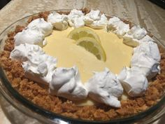 The World's Best, Most Delicious Lemon Meringue Pie Want the best Lemon Meringue or Lemon Cream pie ever? Then this is the recipe for you! It's to die for! Creamy, tart, and delicious! Easy to make too! Beef Brisket Recipes, Smoked Meat Recipes, Grilling Recipes, Jerkey Recipes, Bbq Beef, Sausage Recipes, Bbq Grill, Lemon Cream Pies, Smoked Brisket