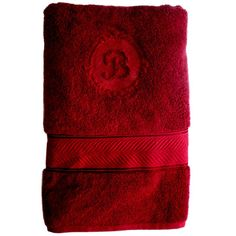 Bath towels custom embroidered by Initial Impressions