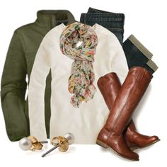 fall fashion 2012 love the shoes (don't like the green jacket)