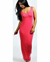 boohoo Sandy Scoop Neck Maxi Dress - lipstick azz67456 This jersey maxi dress is a staple item for your wardrobe! Featuring a soft, figure-skimming material, a basic scoop neck, and a maxi length, what's not to love? This season, we'd team it with a pair  http://www.comparestoreprices.co.uk/dresses/boohoo-sandy-scoop-neck-maxi-dress--lipstick-azz67456.asp