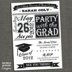 Custom graduation announcements. Order yours at Boardman Printing. Visit us on Facebook/BoardmanPrinting