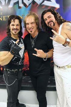 REO Speedwagon's Dave Amato Attends Rock of Ages at The Venetian Las Vegas on Aug 25, 2015