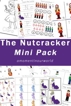 This pack was created for children ages 2 – 8 in mind and contains the following activities: alphabet matching cards colouring pages I Spy – counting tracing letters size sequencing cards colour matching cards shadow matching cards trace the path learn the alphabet puzzles 3 part cards trace the shapes counting