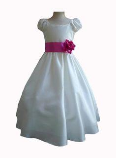 Classykidzshop Ivory Taffetta Wedding Flower Girl Dress with Colorful Sash Classykidzshop, http://www.amazon.com/dp/B008A1HKEU/ref=cm_sw_r_pi_dp_WSwcrb0PFD9C4 $31.99