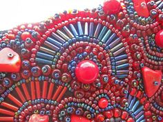 Bead embroidery. Вышивка бисером. Lav accessories