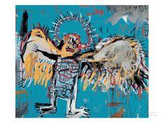 Ohne Titel (Gefallener Engel), 1981 Giclée-Druck von Jean-Michel Basquiat - AllPosters.at