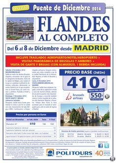 FLANDES al Completo-Pte. de Diciembre-sal. 5 de Diciembre dsd Mad,Bio y Ovd(3d/2n) p. final dsd 550€ ultimo minuto - http://zocotours.com/flandes-al-completo-pte-de-diciembre-sal-5-de-diciembre-dsd-madbio-y-ovd3d2n-p-final-dsd-550e-ultimo-minuto-4/