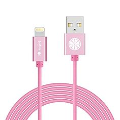 iPhone 7 Rose Gold Cable iOrangeE Apple Certified 10Ft Extra long Lightning Cable to USB Cord for iPhone 7 6S 6 Plus SE 5S 5C iPad Air 2 iPad Mini 2 3 4 iPad Pro iPod Rose Pink ** You can get additional details at the image link.