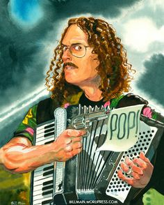 Weird Al Yankovic is one of my celebrity crushes. What can I say? Funny is sexy.