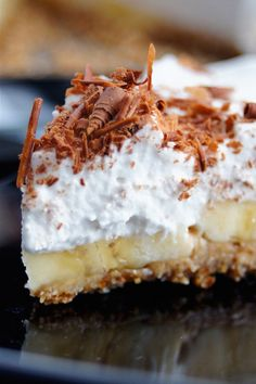 Gluten Free Recipes, Vegetarian Recipes, Healthy Recipes, Banoffee Pie, Vegan Cake, Healthy Sweets, Sweet Desserts, Food Design, Cake Recipes