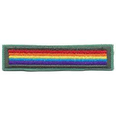 Moving from one Girl Scout grade level to another is called bridging. This award is for bridging from Girl Scout Junior grade level to a Girl Scout Cadette grade level. $1.25.
