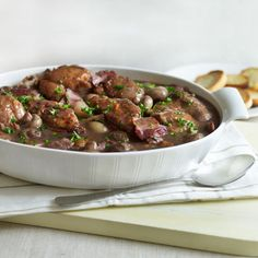 Mary Berry's Coq au Vin with potatoes recipe. For the full recipe and more, click on the picture or visit RedOnline.co.uk