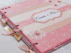 Nina Art - Lembranças Personalizadas: livro de assinatura casamento