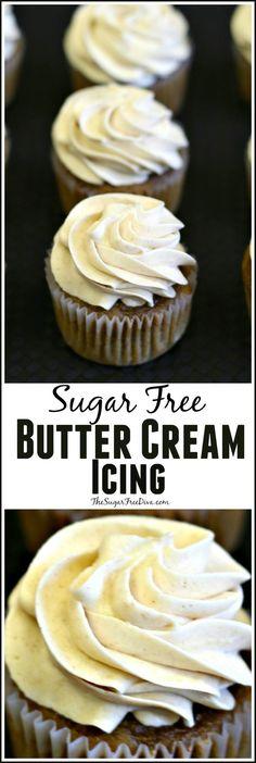 Sugar Free Butter Cream Icing Recipe