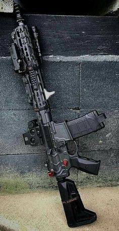 Nowadays, there is a large variety of airsoft guns available in the market. Starting from manually running spring powered guns to completely loaded electric airsoft guns, there are Ninja Weapons, Weapons Guns, Airsoft Guns, Guns And Ammo, Tactical Rifles, Firearms, Tactical Wall, Tactical Survival, Armas Wallpaper
