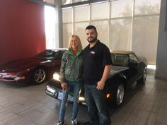 Wendy bought the 1995 #Chevy #Corvette! Thank you Wendy, we appreciate it! http://crsautomotive.com/vehicle-sales/  #HamOnt #Oakville