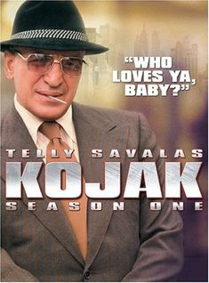 This show was huge and I'd love to re-watch it because I remember it as being a really good cop show. And it reminds me of my Dad because he used to do Telly Savalas impressions a lot.