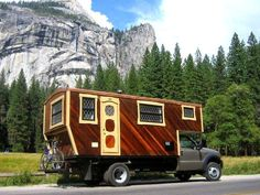 The Flying Tortoise: This Is A Beautifully Crafted Wooden Housetruck Of...