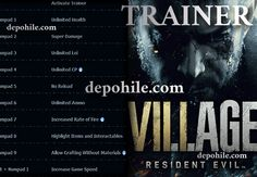 Resident Evil Village PC Oyunu Çalışan Trainer Hilesi İndir 2021 Leiden, Resident Evil, Trainers, Game, Tennis, Gaming, Athletic Shoes, Toy, Sweat Pants