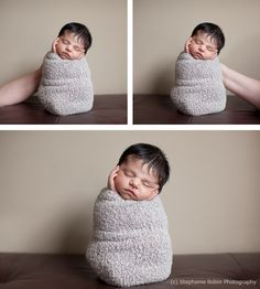 Another cute newborn pose and how it's done