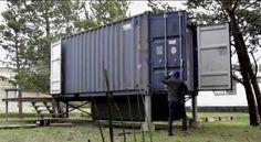 Shipping Container Homes: Shipping Container Home, - The SurfShack, Hartman Kable, - Grayland, Washington, http://homeinabox.blogspot.com.au/2013/07/shipping-container-home-surfshack.html