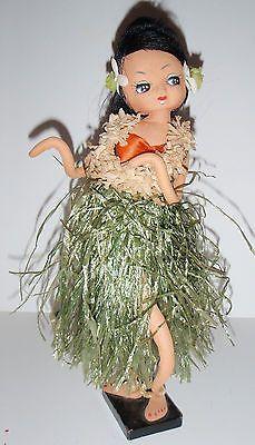 5 Vintage Cloth-Faced Big Eye Bradley Type Japan Dolls Pose Doll 1960s Mod | eBay