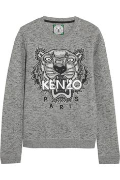 Channel your inner wild side with this awesome Kenzo tiger sweatshirt #parisvacationsplurge