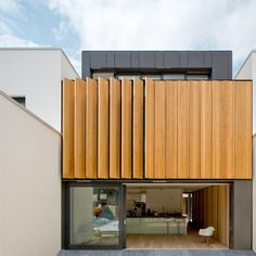 Pasel Kuenzel Architects Design a Luminous Home in the Netherlands Modern Architecture House, Facade Architecture, Residential Architecture, Modern House Design, Cleaning Wood Floors, Timber Panelling, Minimal Home, Prefab, Cladding