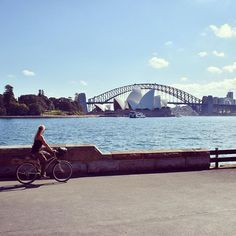 I want to ride my bicycle!  All across this beautiful city!  #sydney #australia #love #bicycle #citylife #cycling #downunder #picoftheday #nsw #photooftheday #instadaily #instagram #instagood #sydneylife #sydneyoperahouse #operahouse #harbourbridge #australiagram #sydneyharbourbridge #bike #adventure #wanderlust #instatravel #travel #travelblog #travelgram #igtravel #placetobe #traveling