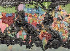 paula scher worldmap