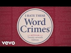Word Crimes grammar & writing song by Weird Al (Blurred Lines parody) Grammar And Punctuation, Teaching Grammar, Teaching English, English Teachers, Teaching Resources, 8th Grade Ela, Song Words, High School English, Reading Strategies