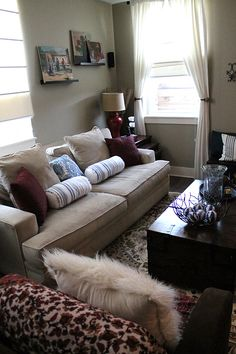 """""""The couch is from ZGallerie and is one of those couches that begs to be laid on"""" - @Laurie Jones {House to Your Home}"""