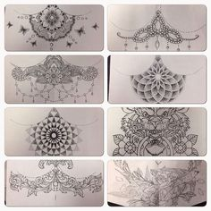 Underboob tattoo designs