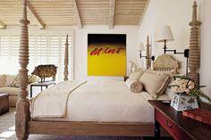 Rustic Bedroom by Randy Patton in La Quinta, California
