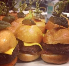 Mini Angus Burger Sliders
