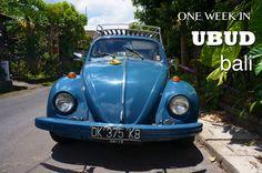 One Week in Ubud, Bali