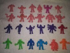 Vintage 1980's M.U.S.C.L.E. Muscle Men figures lot 24 pieces