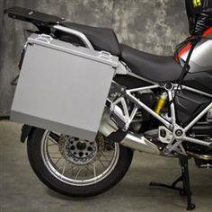 Happy Trial - Aluminum Pannier Kit CASCADE BMW R1200GSW