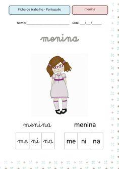 Fichas 28 palavras Sa Pa, Judo, Family Guy, Teaching, Murcia, Facebook, Nature, Number Line Activities, Reading Activities