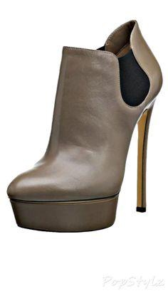 Casadei Italian Leather Booties