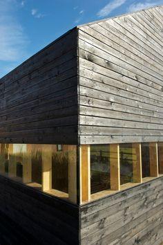 minimalistische Architektur - Detail -Fenster