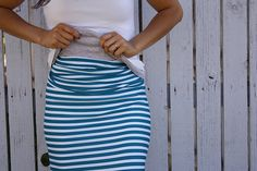 Skirt sewing project