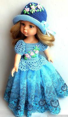 Нарядный голубой комплект для паолочки . При покупке двух нарядов доставка в подарок !!! / Одежда для кукол / Шопик. Продать купить куклу / Бэйбики. Куклы фото. Одежда для кукол