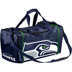 NFL Seattle Seahawks Core Extra Small Duffle Bag - Navy Blue Seahawks Gear, Seahawks Fans, Seahawks Football, Best Football Team, Nfl Seattle, Seattle Seahawks, Trends, Travel Luggage, Duffel Bag